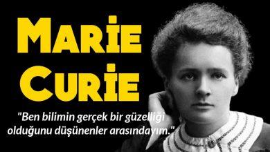 Photo of Marie Curie Kimdir?