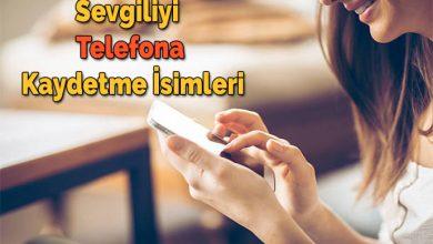 Photo of Sevgiliyi Telefona Kaydetme İsimleri